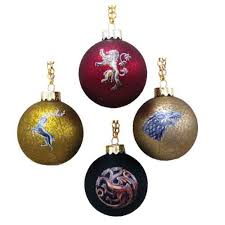of thrones house crest decal ornament set kurt s