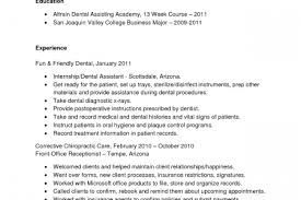 Dental Assistant Resume Examples No Experience by Scheduling Coordinator Resume Sample Reentrycorps