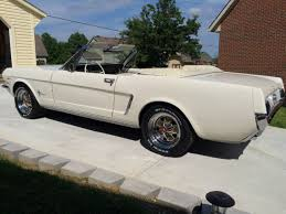 white ford mustang convertible 1964 1 2 ford mustang convertible white v8 260 dearborn mi