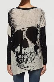 skull sweater skull sweater from by rock2royal boutique