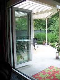 Three Panel Sliding Glass Patio Doors by 3 Panel Bi Fold Patio Door Bi Folding Patio Doors Pinterest