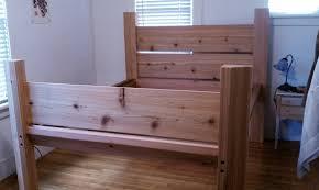 cedar bed frame ecological building