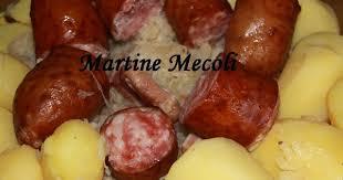 comment cuisiner la choucroute crue recette de choucroute garnie à partir de choucroute crue i cook in