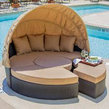 Providence Outdoor Daybed by Avery Island Resin Wicker Patio Daybed By Lakeview Outdoor Designs