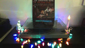 nat king cole the christmas song vinyl youtube