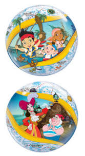 jake and the never land themed balloons
