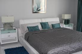 Picture On Teal And Gray Bedroom Decorating Ideas With Gray And - Teal bedrooms designs
