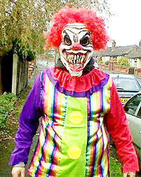 police call for calm after bogus sightings of mysterious clown in