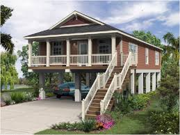 vacation cottage plans modern stilt house plans small cabin on stilts plan modern