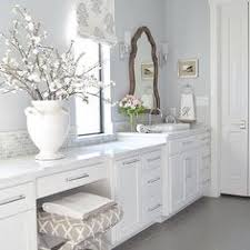 White Master Bathroom Ideas Neutrals A Pop Of Pink Win In This Home Master
