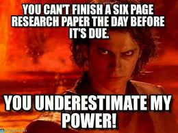 Memes About Writing Papers - help me with my research paper