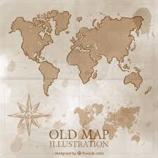 antique map world map vectors photos and psd files free
