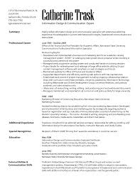 exle of registered resume marketing communication specialist resume resumes letters