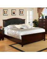 furniture of america cm7599n crest view contemporary brown cherry