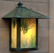 mission style outdoor wall light quoizel harmony 10 5 in h imperial bronze outdoor wall light