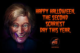 donald trump u0026 hillary clinton make for the second scariest day of