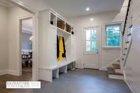 Built In Bench Mudroom Mudroom Wainscoting Transitional Laundry Room Veranda Interiors