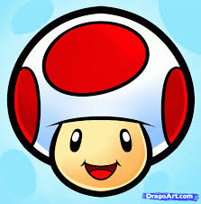 draw toad easy step step video game characters pop