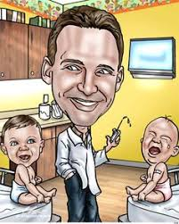 med school gifts custom doctor caricature gift caricatures retirement and gift