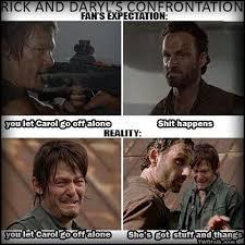 Walking Dead Meme Daryl - walking dead meme daryl and rick mne vse pohuj