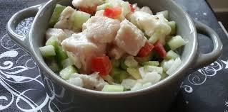 cuisine tahitienne recettes salade de poisson cru à la tahitienne facile recette sur