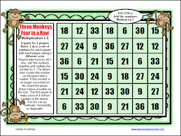Multiplication Table Games by Gallery Multiplication Games Printable Best Games Resource