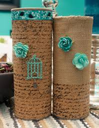 homemade vases using pringles cans homemade diy ideas and craft