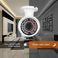 h view security camera outdoor 1000tvl cmos ir night vision