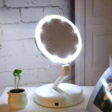 lighted travel makeup mirror 15x lighted travel mirror lighted travel makeup mirror canada floxite