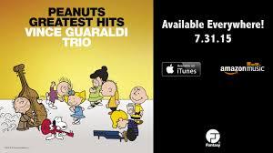 peanuts christmas soundtrack peanuts greatest hits vince guaraldi trio brown theme