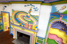 Dr Seuss Bedroom A Dr Seuss Museum Is Opening In His Hometown In The Us