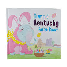 easter bunny book tiny the ky easter bunny book kentucky branded