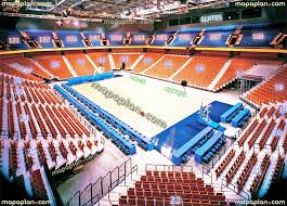 mohegan sun arena view from section 114 row a seat 15