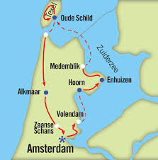 Amsterdam Map Europe by Europe By Bike