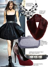 little black dress holiday accessories all for under 50 fashion