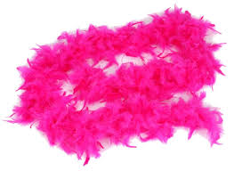 turkey feather boa fuchsia pink feather boa 6ft princess tea