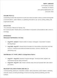 college student resume template free resumes for internships for college students