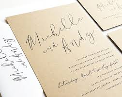 where to get wedding invitations wedding invitations etsy
