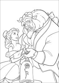 beauty beast free coloring pages coloring pages