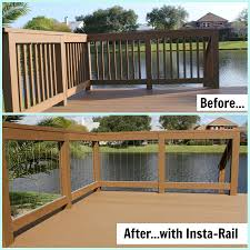 image of cable deck railing kits cottage trends and images
