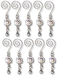 scroll swirl ornament hooks for collectible ornament