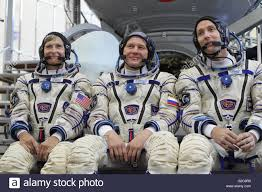 international space station expedition 48 backup crew pose for