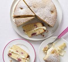 white chocolate u0026 raspberry cake recipe bbc good food