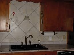 Kitchen Backsplash Tile Patterns Awesome Large Tile Kitchen Backsplash Gallery Home Decorating