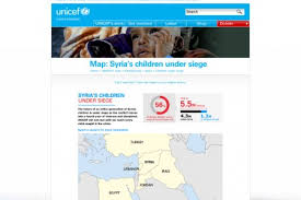 unicef siege unicef infographics visual ly