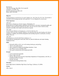 Sample Resume For A Driver 5 Sample Resume Format For Driver Computer Invoice