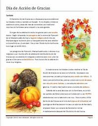 complete thanksgiving lesson plan with standards pre reading
