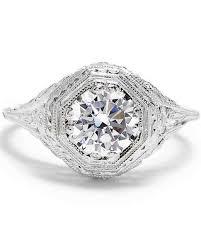 filigree engagement rings 47 stunning vintage engagement rings martha stewart weddings