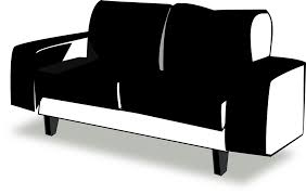 free vector graphic couch black sofa furniture free image on