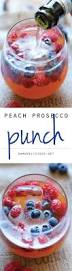 peach prosecco punch recipe prosecco berry and peach